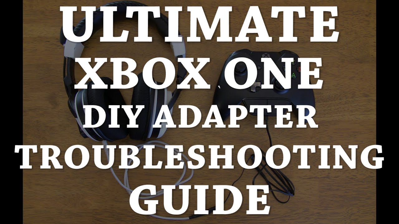 maxresdefault ultimate xbox one headset diy adapter troubleshooting and faq tritton headset wiring diagram at edmiracle.co