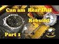 Can Am Rear Diff Rebuild Part 1 Seals & Bearings