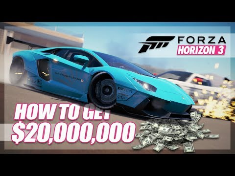 Forza Horizon 3 - The $20,000,000 Challenge!! (Funny Moments)
