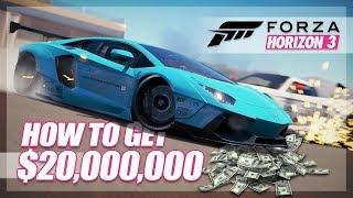 Forza Horizon 3 - The $20,000,000 Challenge!! (Funny Moments)