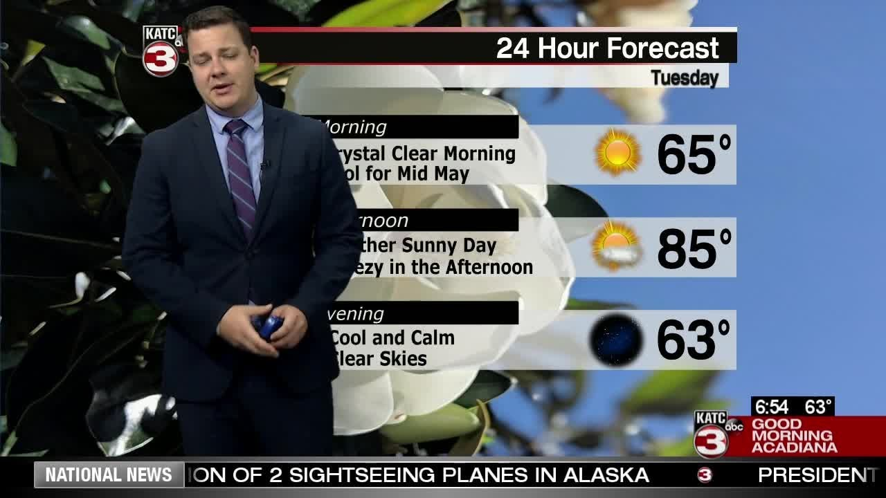 Daniel's Tuesday Weather Cast 5/14/19