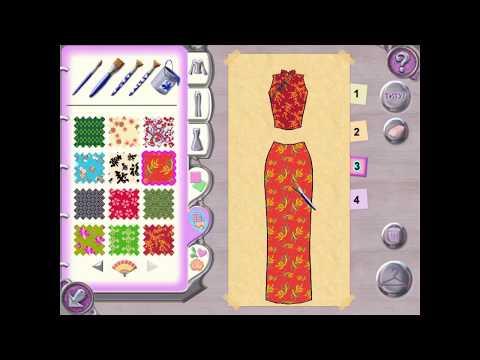 Игры для девочек - Барби. Показ мод: коллекция  Азиатская Экзотика (прохождение игры)