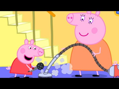 Peppa Pig Full Episodes ⭐️NEW SEASON ⭐️ Peppa Pig Records Funny Music | Kids Videos
