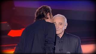 Aznavour pour Johnny     Nous nous reverrons un jour ou l'autre