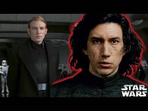 Why General Hux Tried to Kill Kylo Ren Explained by Actor – The Last Jedi Explained
