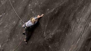Monkey See Monkey Do: Hazel Findlay Climbs Rainbow of Recalcitrance E6