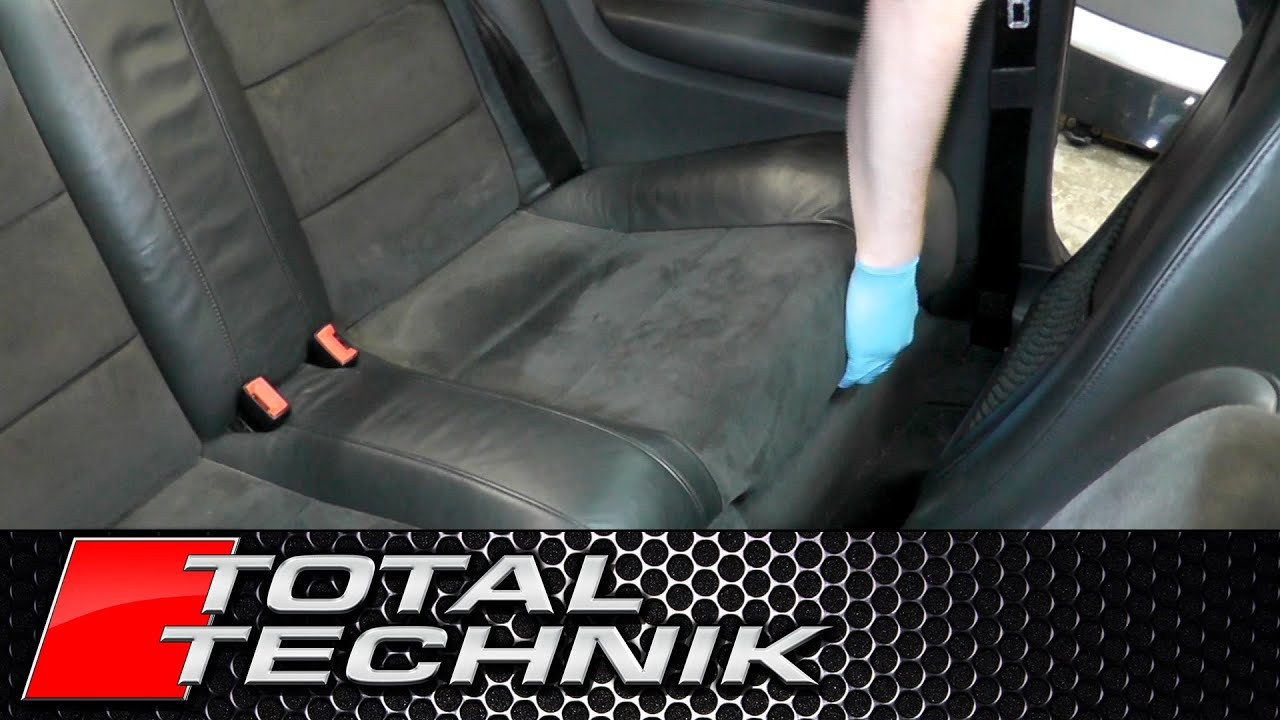 How to Remove Rear Seats Bench (Cabriolet) - Audi A4 S4 ...
