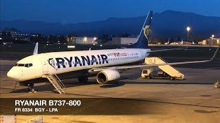 TRIP REPORT | Ryanair B737-800 | Milan Bergamo BGY ✈ Gran Canaria LPA