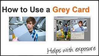 Photography Tip - How to use a Grey Card