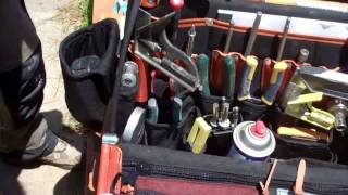 """""""the Doctor"""" Tool Bag Occidental Leather Video By Kreg"""