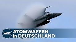 STREIT UM ATOMWAFFEN: Nukleare Teilhabe Deutschlands sei wichtiger Teil der NATO-Abschreckung