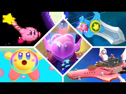 Evolution of Final Weapons in Kirby Games (1993 - 2018)