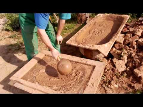 Глиняный раствор для кладки печи