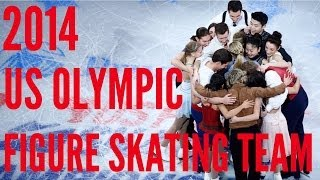 Introducing the 2014 US Olympic Figure Skating Team!!!