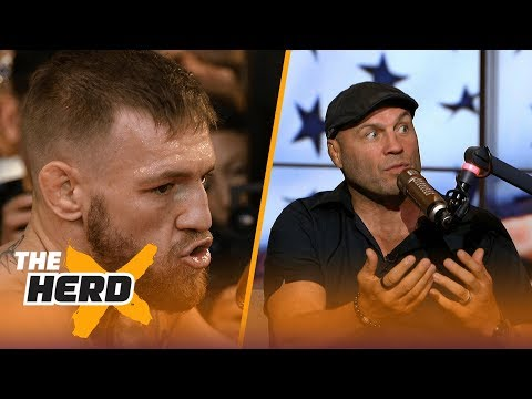 Thumbnail: Randy Couture reacts to video of Conor McGregor knocking down Paulie Malignaggi | THE HERD