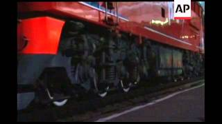 Video Security tight as Kim Jong Il''s train briefly stops in eastern city download MP3, 3GP, MP4, WEBM, AVI, FLV Oktober 2018