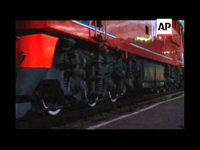 Security tight as Kim Jong Il''s train briefly stops in eastern city