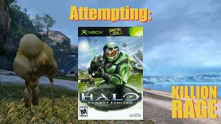 Attempting Halo: Combat Evolved