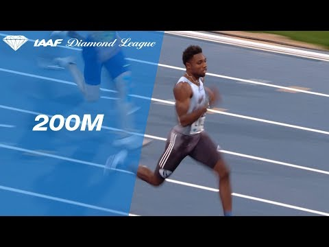 Noah Lyles Bests Usain Bolt's Meeting Record Over 200m In Paris - IAAF Diamond League 2019