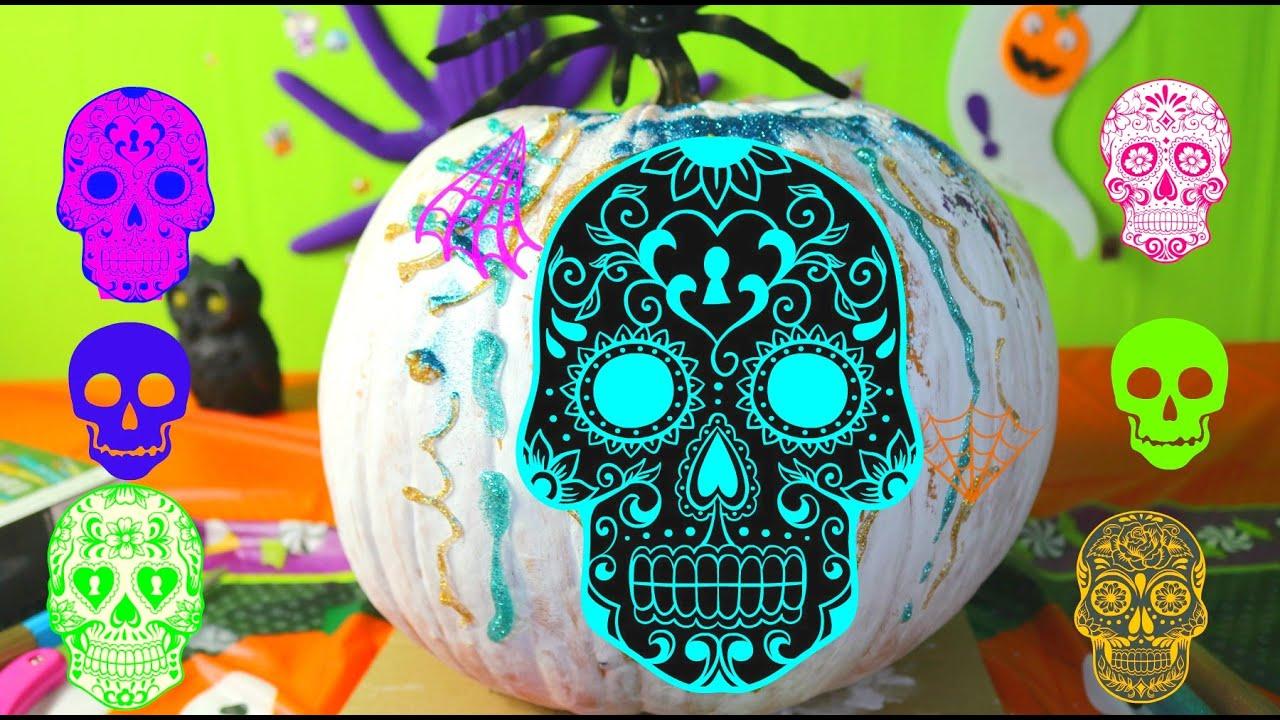 Decoraci n de calabaza calaverita para halloween - Decoracion calabazas para halloween ...
