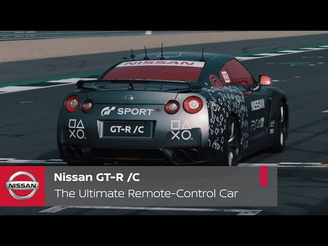 Nissan GT-R /C - the ultimate remote-control car for gamers