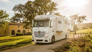 Magellano - Reisemobil - Einblicke und Funktionen des Luxus-LKW-Wohnmobils.