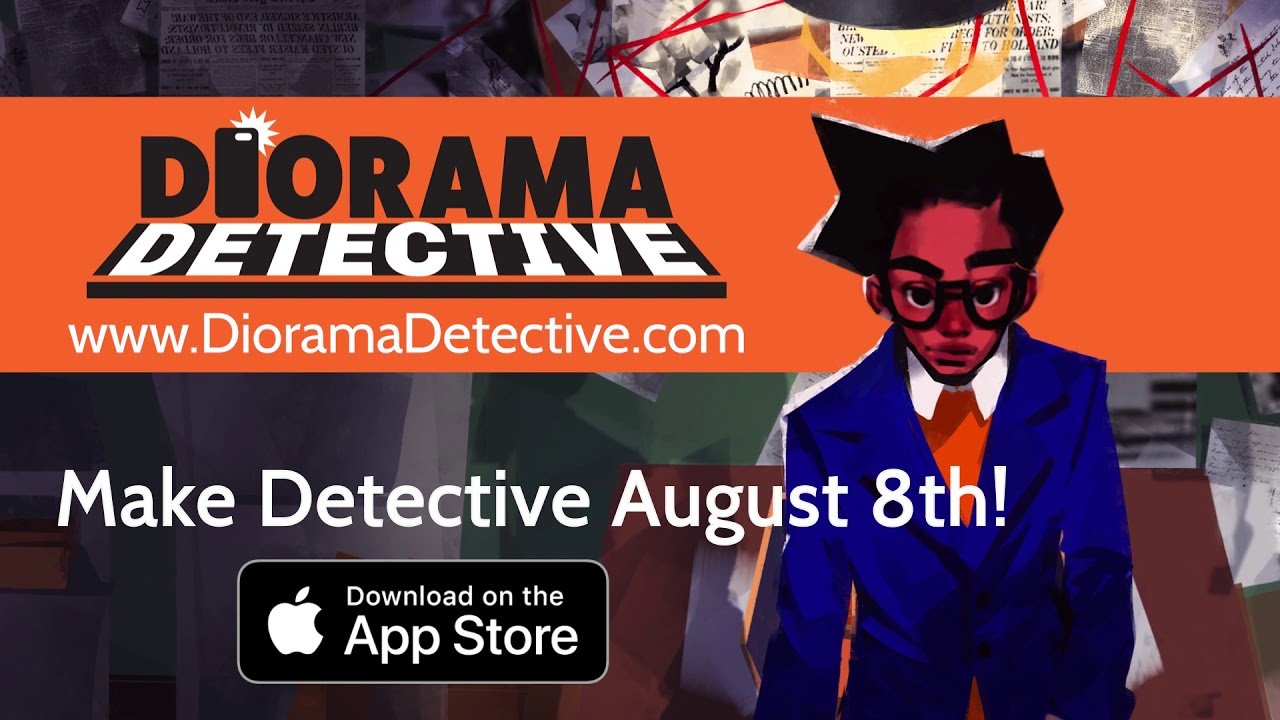 Diorama Detective sees you recreating crime scenes and