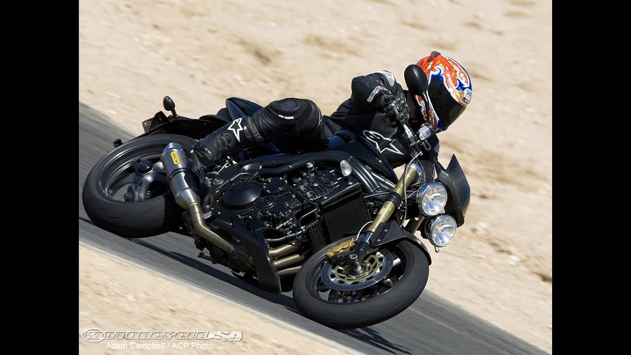 2007 Triumph Speed Triple - Streetfighter Comparo II - MotoUSA - YouTube