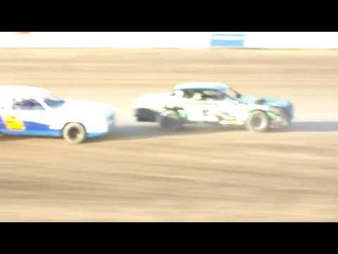 Dacotah Speedway Wissota Street Stock Heats (8/11/17)