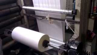 видео: Флексографическая печать на пакетах