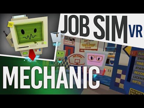 Job Simulator VR Gameplay - Auto Mechanic! (HTC Vive)