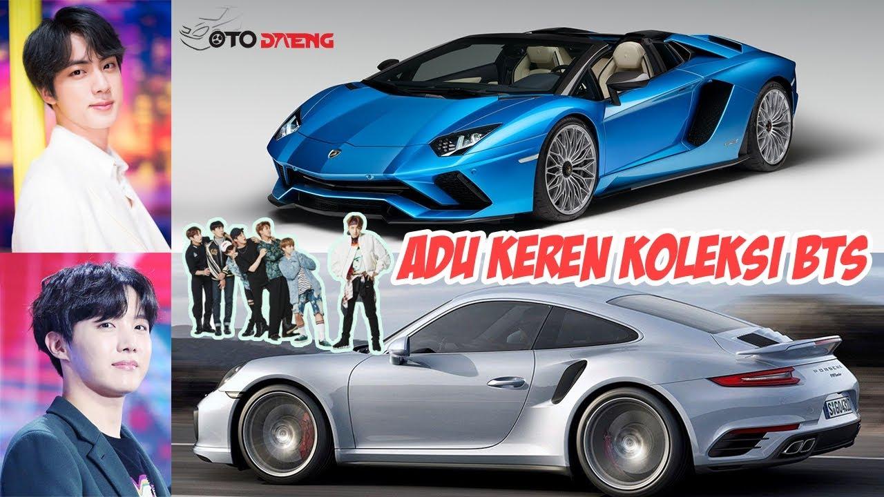 Dari Bmw Sampai Lamborghini Ini Dia Koleksi Mobil Member Bts Youtube Bmw Lamborghini Mobil