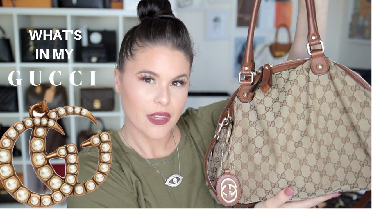 7557775e070e WHATS IN MY BAG?! GUCCI | Jerusha Couture - YouTube