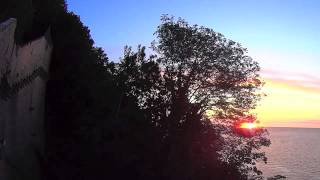 Sunset from Mont Saint Michel, France - Relaxation music by Colin Stone - Ashita (432 Hz)