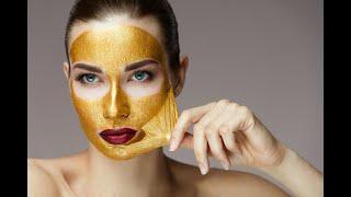 Золотая маска для лица Cledbel