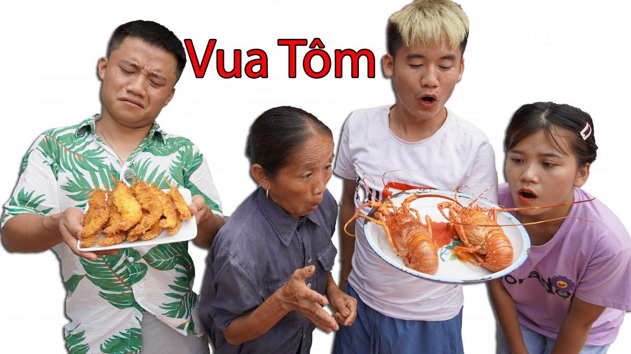 Hưng Vlog - Cuộc Thi Vua Đầu Bếp Của Gia Đình Bà Tân Vlog Tìm Ra Vua Tôm