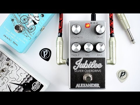 Alexander Pedals Jubilee Silver Overdrive Demo