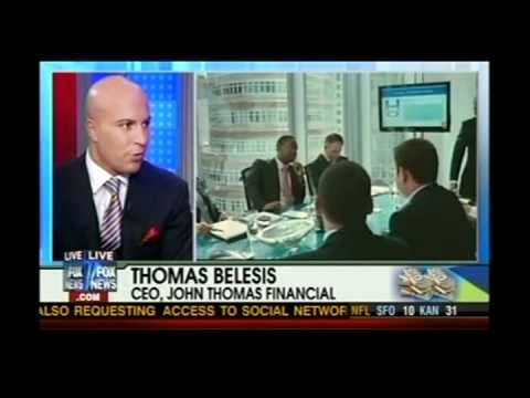 CEO of John Thomas Financial Thomas Belesis Featured on Fox and Friends Discussing Wall Street 2