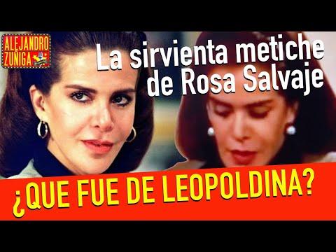 ¿ QUE FUE DE LEOPOLDINA DE ROSA SALVAJE? DE @Tlnovelas