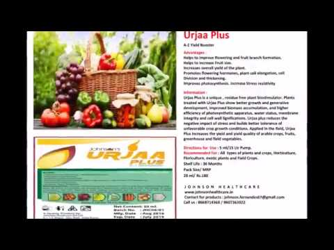 Popular Organic Products for Plants, Crops, Garden, Agriculture, Horticulture and Ornamental Plants