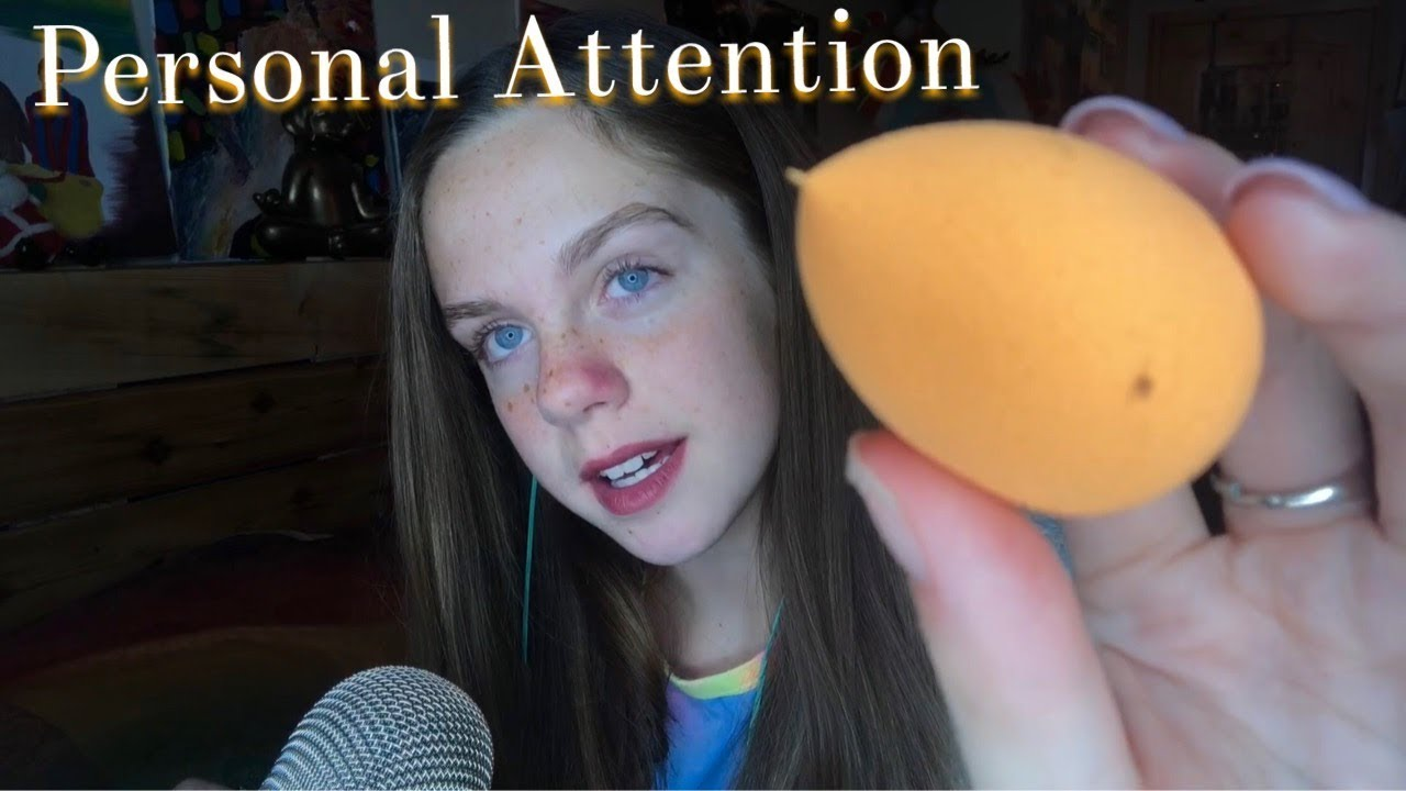 ASMR Personal Attention Triggers (Lotion,FaceMask,Brushing)