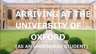 VLOG// Arriving at Oxford University - Bree s Oxford Diary