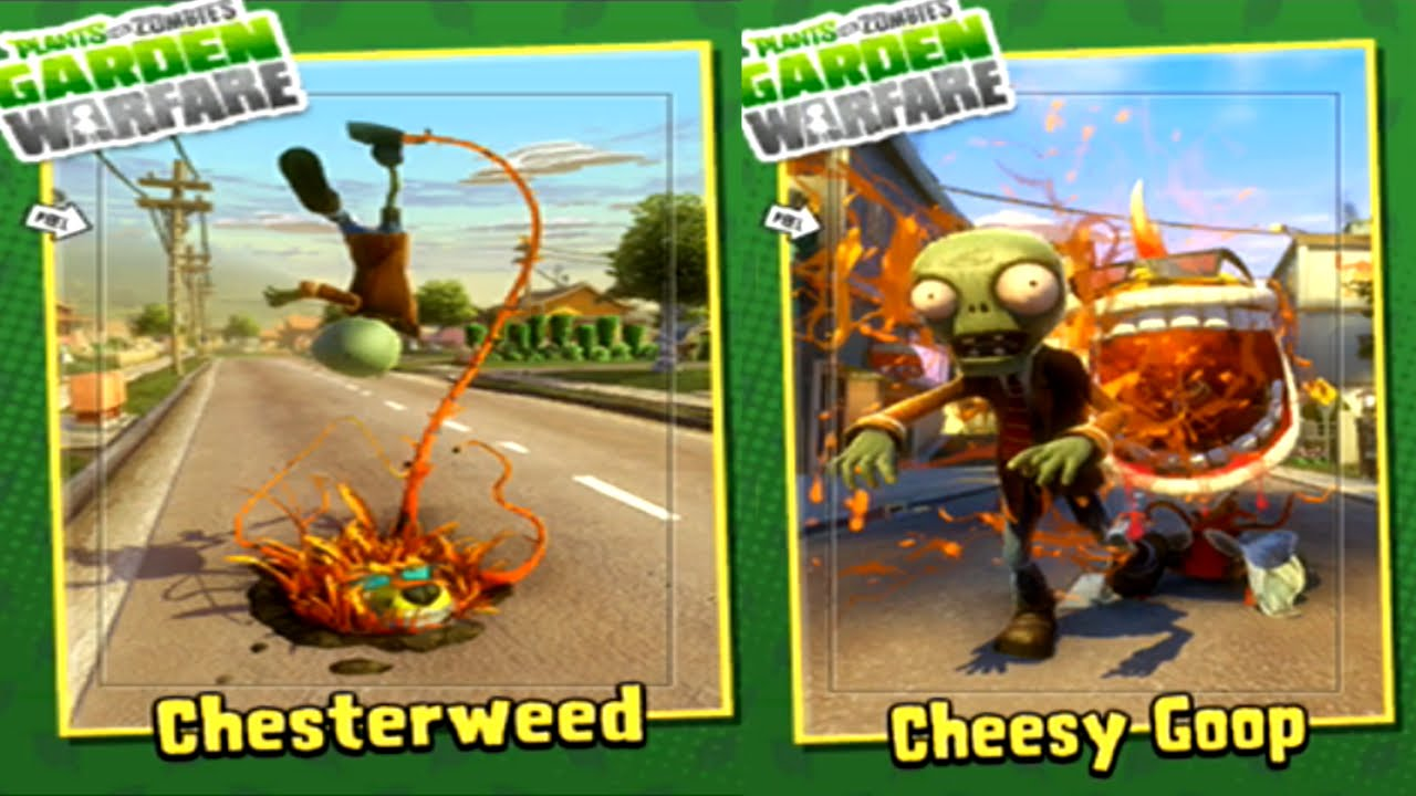 Plants Vs Zombies Garden Warfare Chester Chomper Youtube