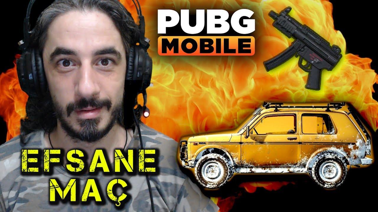 YENİ ARABA YENİ SİLAH VE EFSANE MAÇ !!! - PUBG Mobile
