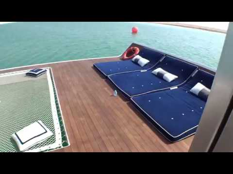 The Floating Sea Horse villa new project  in the world island Dubai