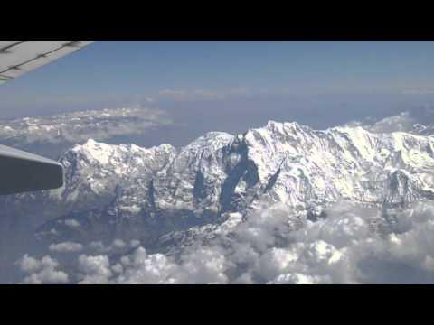 Kathmandu to Delhi Flight (1080p)
