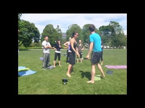 Flying Therapeutics Lesson for Acro Yoga Teacher Training application