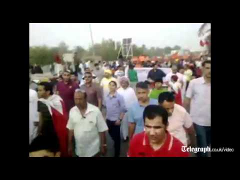 Bahrain Grand Prix: thousands rally in Manama calling for democracy
