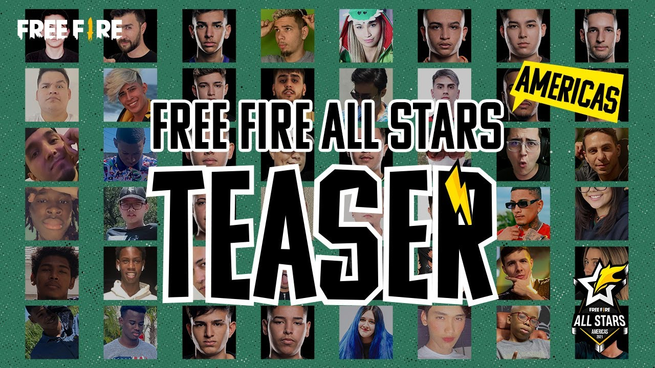 FREE FIRE ALL STARS - SÓ OS BRABOS