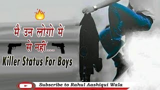 Suna Hai || Killer Status for Boys || Attitude Status || Rahul Aashiqui Wala